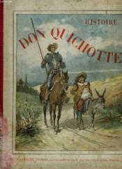 Histoire De Don Quichotte - Couverture - Format classique