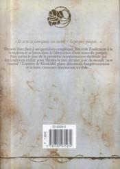 Rozen maiden saison 2 t.2 - 4ème de couverture - Format classique