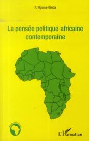 La pensée politique africaine contemporaine - Couverture - Format classique
