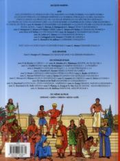 Les voyages d'Alix T.30 ; Lugdunum Lyon - 4ème de couverture - Format classique