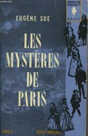 Les Mysteres De Paris - Tome Ii - Couverture - Format classique