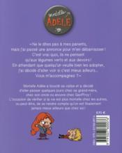 Mortelle Adèle T.8 ; parents à vendre - 4ème de couverture - Format classique