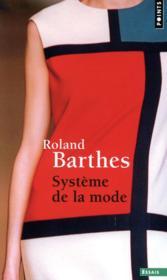 Système de la mode - Couverture - Format classique