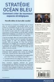 Stratégie océan bleu ; comment créer de nouveaux espaces stratégiques (2e édition) - 4ème de couverture - Format classique