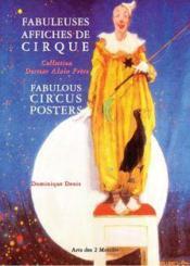 Fabuleuses affiches de cirques - Couverture - Format classique