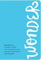 Wonder Journal - Couverture - Format classique