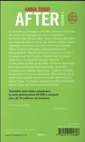 After T.3 ; after we fell - 4ème de couverture - Format classique