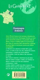 Le Guide Vert T.316 - 4ème de couverture - Format classique