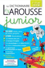 Larousse dictionnaire junior - Couverture - Format classique