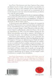 Passion de la France - 4ème de couverture - Format classique