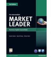 Market leader 3rd ed course book w/ dvd-rom pre-intermediate - Couverture - Format classique
