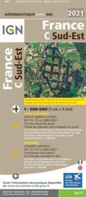 OACI944 : France C Sud-Ouest (édition 2021) - Couverture - Format classique