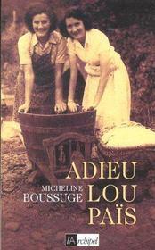 Adieu lou pais - Intérieur - Format classique