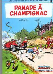 Les aventures de Spirou et Fantasio T.19 ; panade à Champignac - Intérieur - Format classique