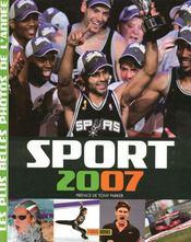 Sports 2007 ; Les Plus Belles Photos De L'Annee - Intérieur - Format classique