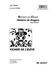 Histoires de dragons ; fichier de l'élève - Couverture - Format classique
