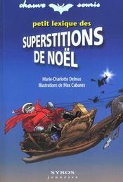 Petit Lexique Des Superstitions De Noel - Intérieur - Format classique