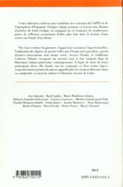 Le Neo Baroque Cubain ; De Donde Son Los Cantantes ; Tres Tristes Tigres - 4ème de couverture - Format classique