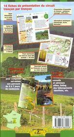 Chevauchee dans le parc des volcans d'auvergne domes sancy guide equestre - 4ème de couverture - Format classique