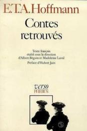 Les contes retrouves - Couverture - Format classique