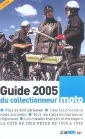 Le guide du collectionneur moto (édition 2005) - Intérieur - Format classique