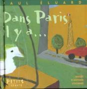 Dans Paris, il y a... - Couverture - Format classique