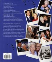 Line Renaud, les rencontres de ma vie - 4ème de couverture - Format classique