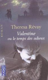 Valentine ou le temps des adieux - Intérieur - Format classique
