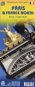 Paris And France North 1:11 000 - Couverture - Format classique
