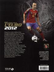 50 héros pour l'euro 2012 - 4ème de couverture - Format classique