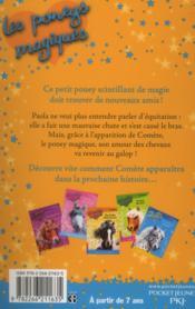 Les poneys magiques t.6 ; un amour de poney - 4ème de couverture - Format classique