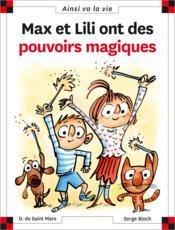 telecharger Max et Lili ont des pouvoirs magiques livre PDF en ligne gratuit