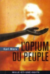 L'opium du peuple - Couverture - Format classique