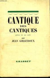 Cantique Des Cantiques.Piece En Un Acte. - Couverture - Format classique