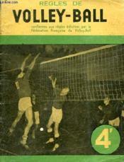 Les Regles Du Volley-Ball - Couverture - Format classique