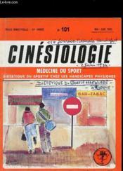 Cinesiologie N° 101 - Revue Bimestrielle - 24e Annee - Couverture - Format classique