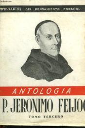 Antologia. Tomo Tercero. - Couverture - Format classique