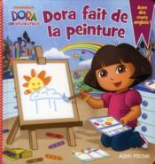 Dora fait de la peinture - Couverture - Format classique