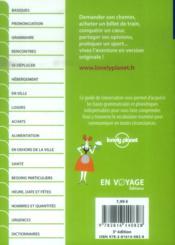 GUIDE DE CONVERSATION ; allemand (5e édition) - 4ème de couverture - Format classique