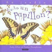 Es-Tu Un Papillon - Intérieur - Format classique
