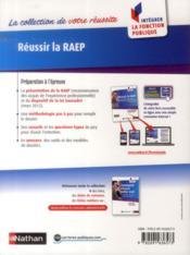 Réussir la RAEP ; reconnaissance des acquis de l'expérience professionnelle (édition 2014) - 4ème de couverture - Format classique