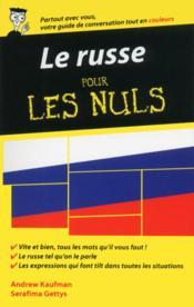 Le russe pour les nuls (2e édition) - Couverture - Format classique
