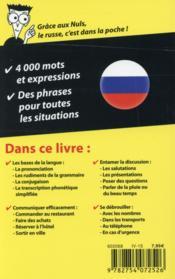 Le russe pour les nuls (2e édition) - 4ème de couverture - Format classique