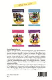 Didattica dell italiano in Camerun ; classe di 3ème - 4ème de couverture - Format classique