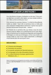 La Bretagne pour les nuls - 4ème de couverture - Format classique