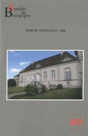 Annales De Bourgogne T.88/2 - Couverture - Format classique