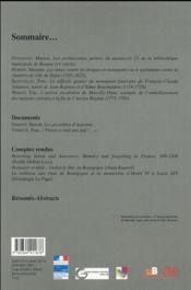 Annales De Bourgogne T.88/2 - 4ème de couverture - Format classique