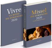 Missel du dimanche ; avec supplément (édition 2020) - Couverture - Format classique