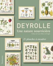 Deyrolle ; une nature nourriciere - Couverture - Format classique