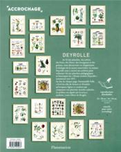Deyrolle ; une nature nourriciere - 4ème de couverture - Format classique